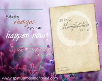 30 Days of manifestation Paperback Journal