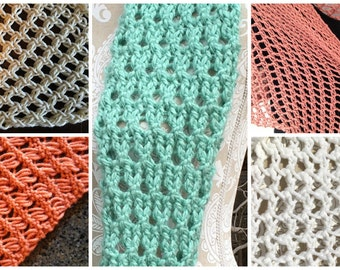 Stitches eBook - 5 unique loom knit stitch patterns