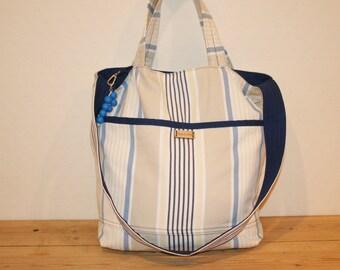 Reversible summer bag/beach bag