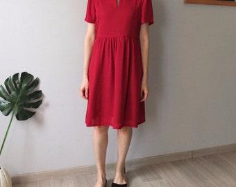 2016 MID-YEAR sample sales – scarlet dress