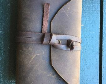 Hand made leather jurinal