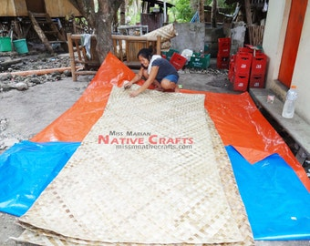 Lauhala Mats wholesale, exporter, We also sell in Retail (Minimum order=5 rolls)