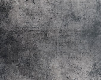 5x5 Grunge Grey Concrete Wall Abstract Photography Backdrop - Fab Vinyl 5x5 ft (FV3014)