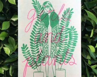 Girls and Plants zine
