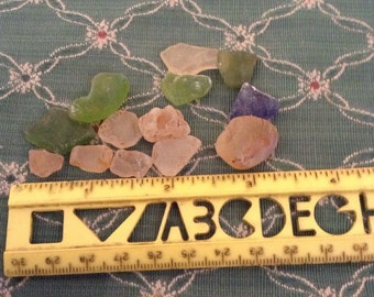 Vintage Sea Glass Shards