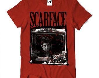 Scarface Movie Mens T-Shirt (SB018)