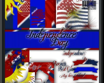Independence Day Scrapkit