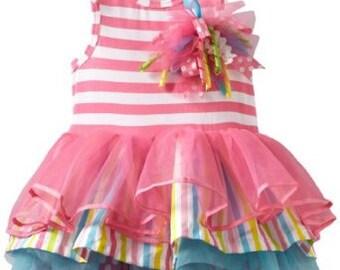 3 Tiered Birthday Dress - Mud Pie