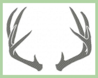 Machine Embroidery Design - Antlers