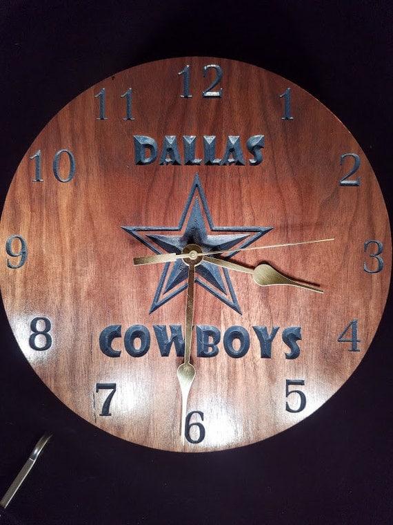 Dallas Cowboys Clock