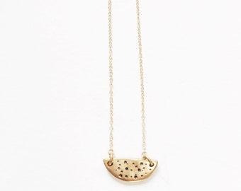 Tiny Galaxy Pendant Necklace