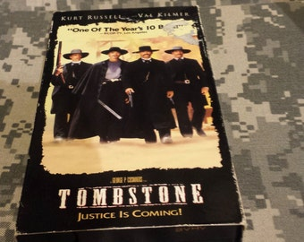 "VHS movie ""Tombstone"""