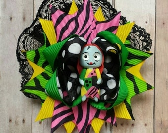 The Nightmare Before Christmas Sally Over the Top Hair Bow