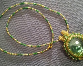 Green Glamour Necklace