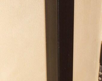 Leg iron tables dark oxidized oil finish H 75 Cm.