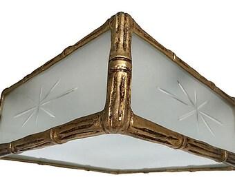 1950s Lightolier Ceiling Light