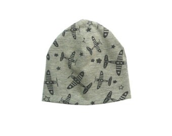 Kids Beanie with planes