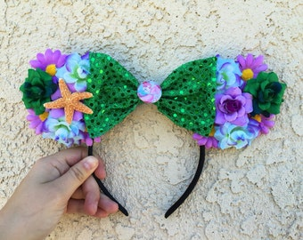 Little Mermaid Princess Ariel Minnie Mouse Ears