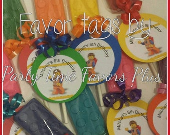 Favor tags Add On- 24 tags