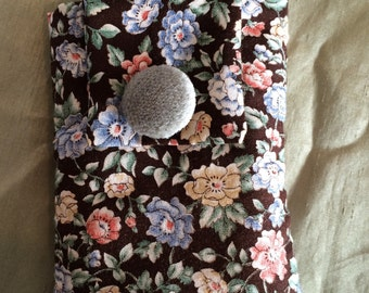 Floral material phone case