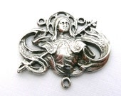 CLearance - Reproduction Saint Joan Sterling Silver Medal Supplies