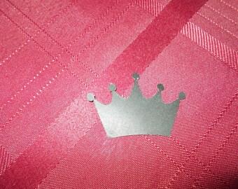 25 Crown Cardstock Scrapbooking Cutout Embellishments!