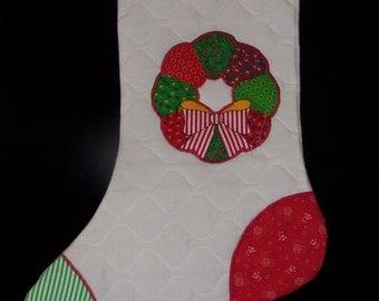 Retro Style Chtistmas Stocking