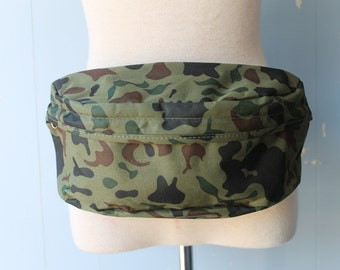 Vintage Camouflage FannyPack/Festival/Hunter/Sporty/Hipster/Festival/Camping
