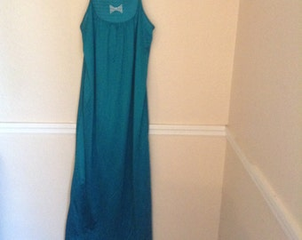 Undercover Wear Brand Teal Nightgown Size Medium