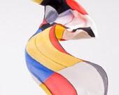 """Mondrian silk scarf  (59,05""""x17,71"""""""") 150x45 cm"""
