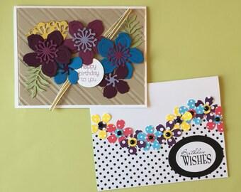 Set of 8 Custom Birthday Cards- Free Shipping!