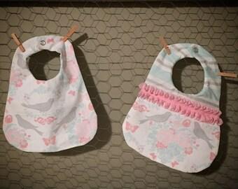Darling Baby Girl Accessory Bib Duo