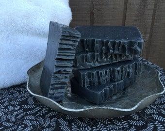 Charcoal & Cedar Handmade Soap