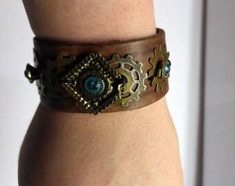 Tribal Steampunk Bracelet