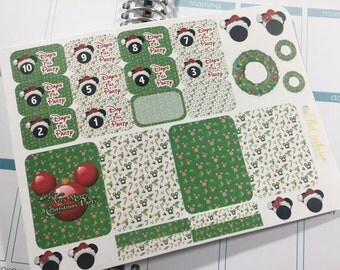 Disney's Very Merry Christmas Inspired Countdown Planner Stickers by Ella Couture by Jessica