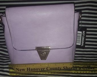 Lilac Cross Body Handbag