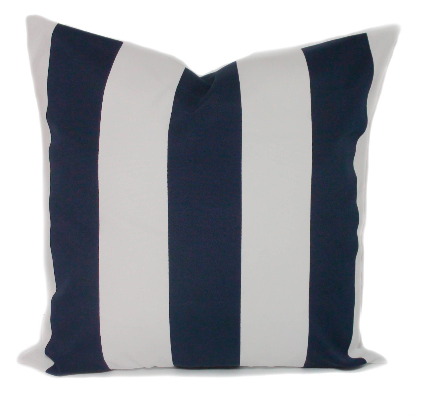 Navy blue outdoor pillow cover Outdoor cushions Patio