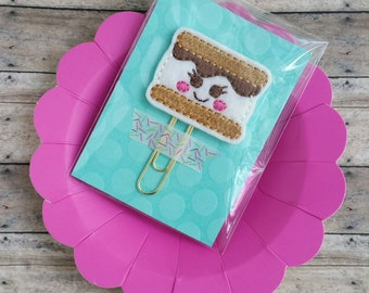 Smores Planner or Bookmark Clip