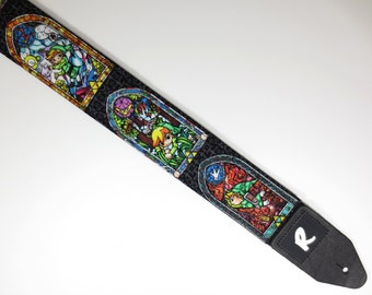 Zelda Guitar Strap - Link - Gamers - For Acoustic, Electric,  and Bass Guitars - Not A Licensed Item