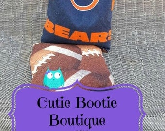 Chicago Bears football hot cold ouchie bag