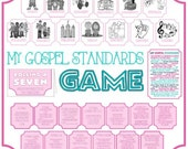 My Gospel Standards Game - Learning and Living the Gospel