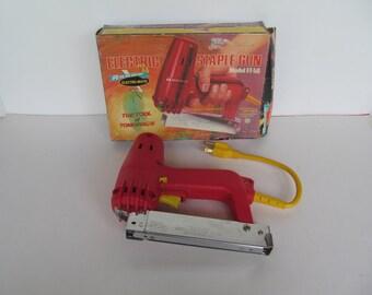 Electric Staple Gun - Vintage Arrow Electric  Staple Gun - Model  ET - 50