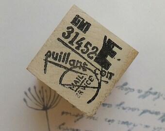 Postmark rubber stamp~14 ,Chamilgarden