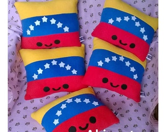 KAWAII VENEZUELAN FLAG.