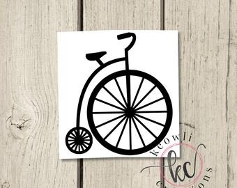 Road Bike Or Beach Cruiser Bicycle Decal Collection Bike
