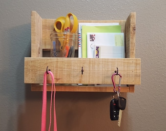 Key Hanger Mail Organization Holder, Entry Way Organization, Mail Holder, Key Hook