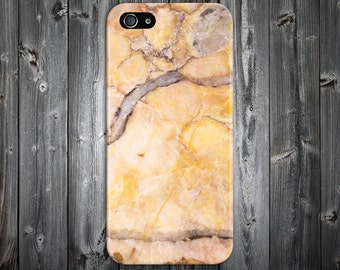 Yellow Marble x Grey Stone Phone Case Texture iPhone 6 iPhone 6 Plus Tough iPhone Case Galaxy s8 Samsung Galaxy Case Handmade CASE ESCAPE
