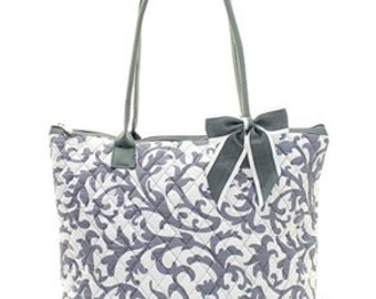 Personalized Ladies Overnight Bag, Weekender Bag, Tote Bag, Luggage, Monogram Tote Bag, Travel Tote Bag, Shopping Tote, Large Tote Bag