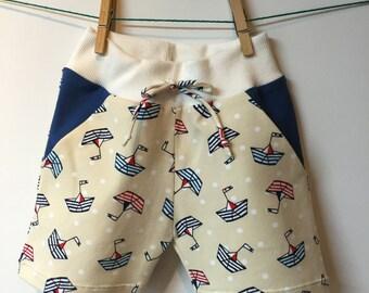 shorts for summer babies boats, elephants, monkeys, cars, mt 78