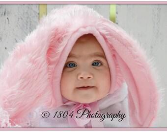 Bunny Bonnets Pink